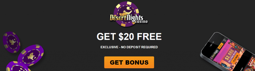 desert nights free spins