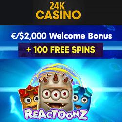 24K-Casino bonusi